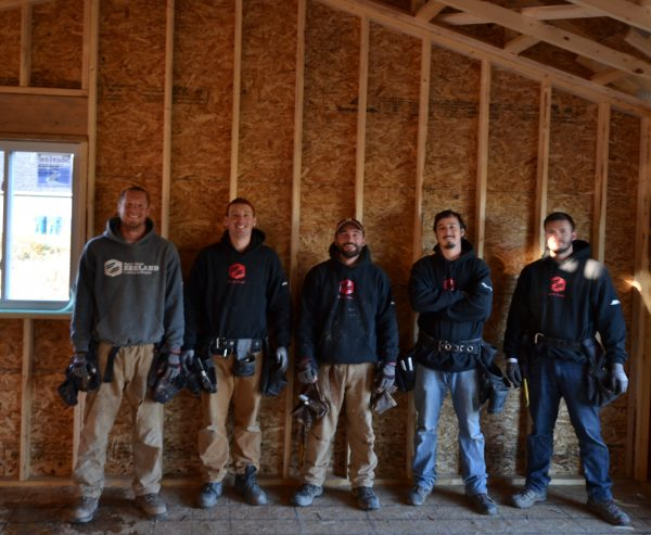 Baumann Building - Framing Crew -
